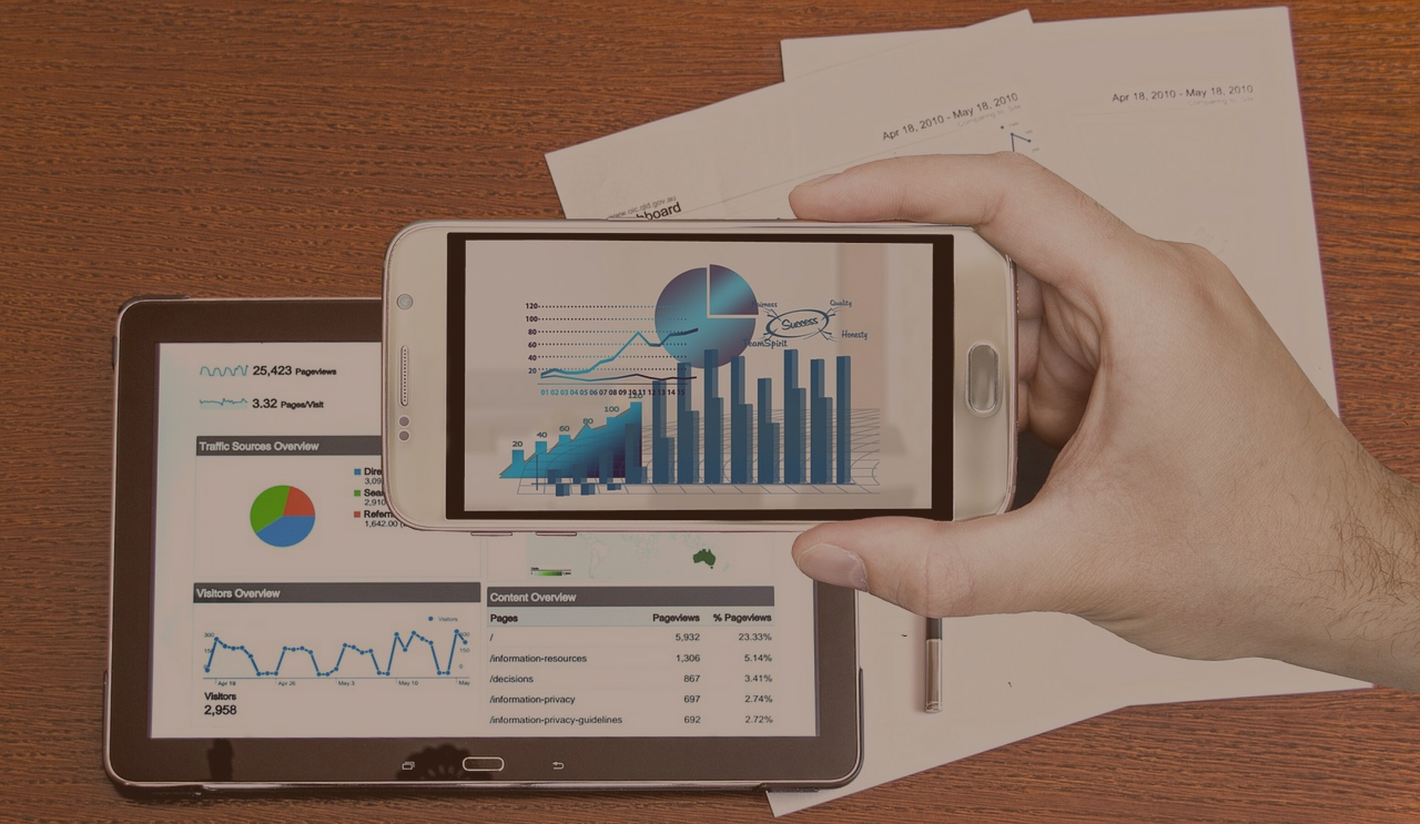 dashboards on the mobile device