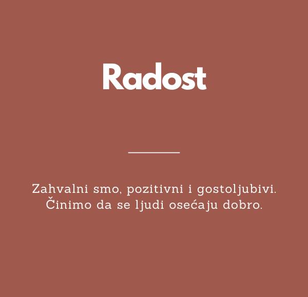 Radost banner